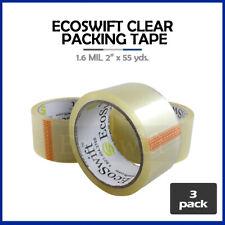 3 Rolls Carton Box Sealing Packaging Packing Tape 16mil 2 X 55 Yard 165 Ft