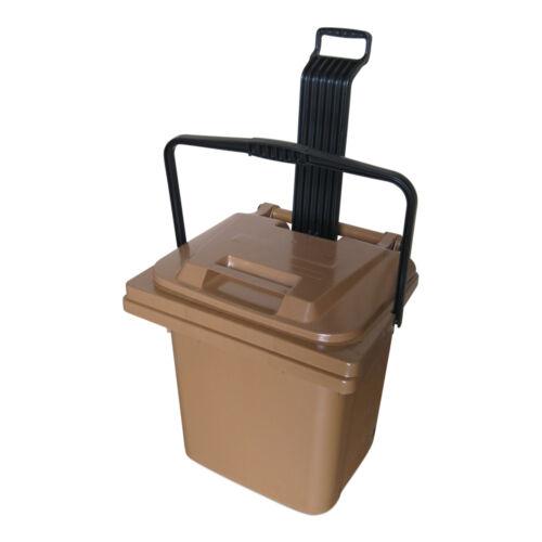 45 L Sulo Futterbehälter Aufbewahrung Box Tierfutter Eimer mit Tragegriff NEU