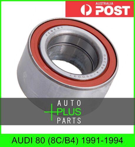 Fits AUDI 80 8C//B4 1991-1994 Front Wheel Bearing 39//41X75X37X37