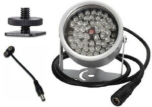 48-LED-Infrared-Illuminator-For-Paranormal-Ghost-Hunting-Equipment