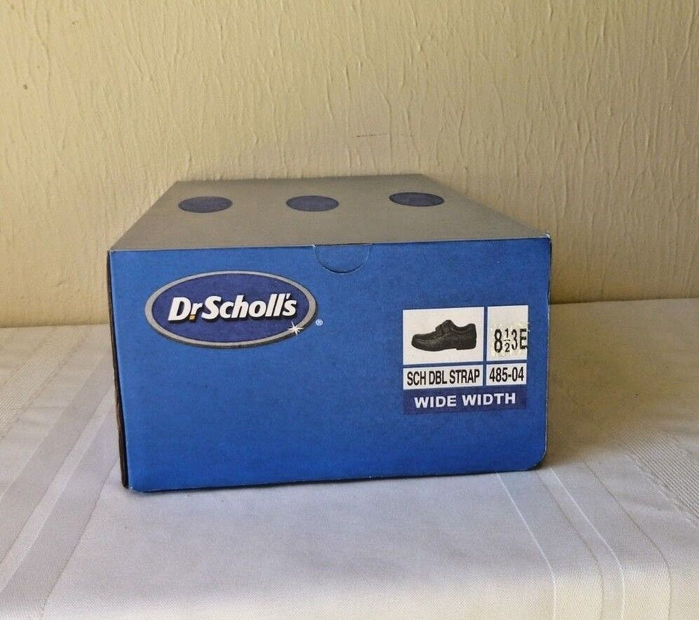 Doctor Scholls Mens shoes Double Strap Air Pillo Insoles Brown New 8 1 2 3E