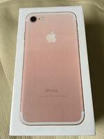 (new & Sealed) Apple Iphone 7 (factory Unlocked) 32gb Rose Gold Gsm Smartphone