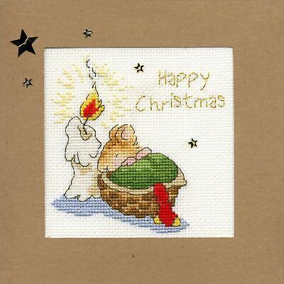 Christmas cards Snowy Robin XMAS14 Bothy Threads Cross Stitch Kit