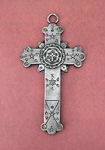 Rose cross plaque rosy cross rose croix golden dawn alchemy ebay rose cross plaque rosy cross rose croix golden aloadofball Images
