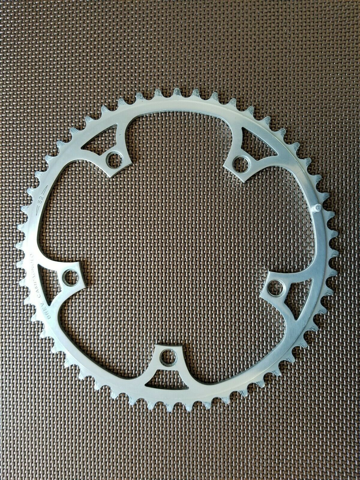 USED Campagnolo Super Record 52 t Chainring. 144 BCD. PATENT (CR29)