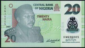 2007-NIGERIA-20-NAIRA-BANKNOTE-KW-636885-UNC-P-34b