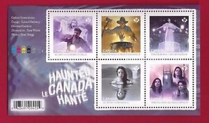 2016-Canada-New-Listing-SS-HAUNTED-CANADA-New-amp-VF-NH