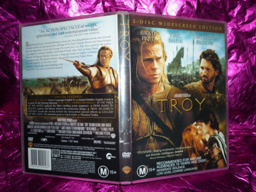 1 of 1 - TROY (2 DISC WIDESREEN EDITION) (DVD, M15+)
