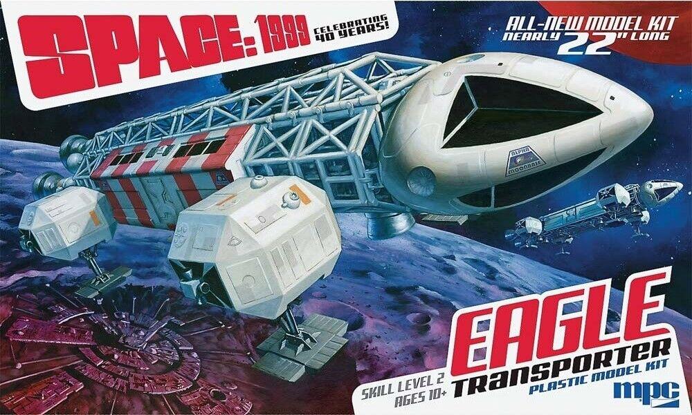 Mpc 1 48 Espace 1999 Aigle Transporter Kit Modélisme