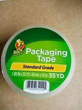 Clear Duck Packaging Tape 188x 55 Yd Packing Tape Shipping Standard Grade