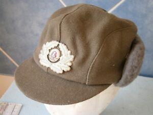 Ddr East Germany German Army Officer Hat Cap Badge Armee Hut Hut