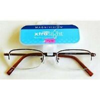Foster Grant Magnivision Xtrasight Glasses (m18) Choose Your Strength