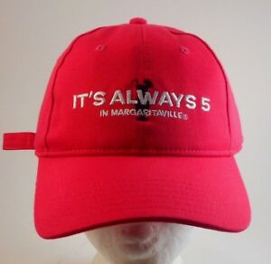 c2071252fc6b1 It s Always Five O Clock in Margaritaville Baseball Hat Cap ...