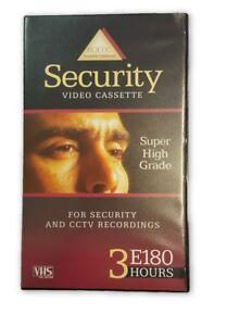 BASF-60PK-VHS-SECURITY-VIDEO-TAPES-E180-HIGH-GRADE-CCTV-amp-GENERAL-RECORDING