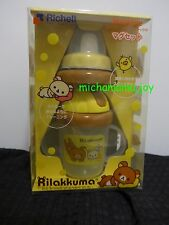 San-x Rilakkuma Richell Infants Baby 5 months training cup cap straw sippy