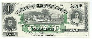 1-Connecticut-Bank-of-New-England-Goodspeed-G16c-18XX-Paddle-Boat-Plate-A