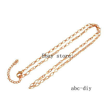 wholesale 3pcs rose gold necklace chain For Floating Memory Living Lockets