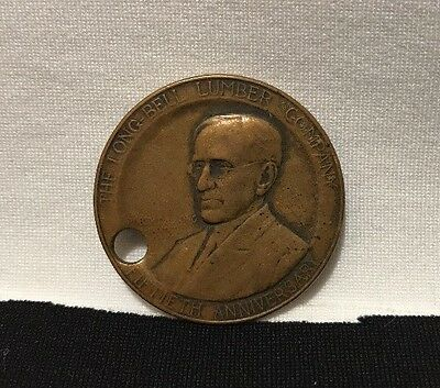 Other Ancient Coins Active 1925 Bronzo Medaglia The Lungo Bell Lumber Co Cinquantesimo Anniversario Moneta