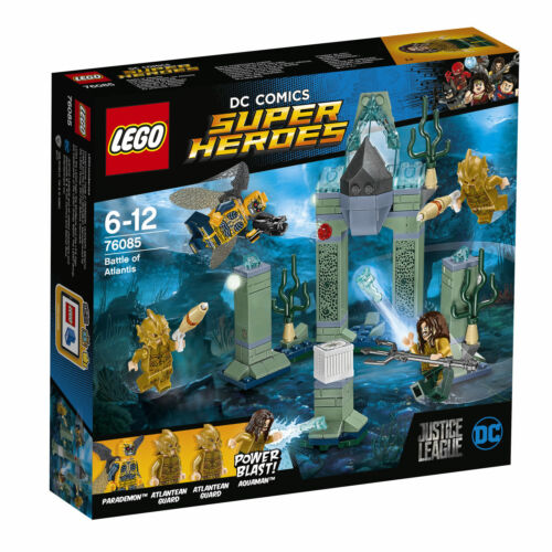 LEGO Das Kräftemessen um Atlantis 4 Figur Set 76085 DC Universe Super Heroes