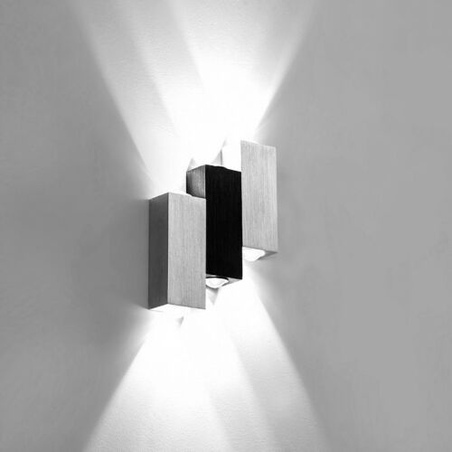 Dimmable 6W LED Wall Fixture Lamp Up//Down Light Modern Decor Lighting Bedroom
