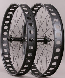 Sun-Mulefut-80-SL-26-034-Fat-Bike-Wheelset-15mm-Front-QR-Rear-32-Hole-6-Bolt-Disc