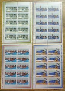 10-x-Bund-Nr-1974-1977-KB-postfrisch-BRD-Kleinbogen-Zehnerbogen-Satz-1998
