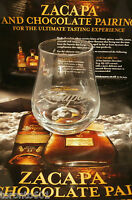 Ron Zacapa Rum glass