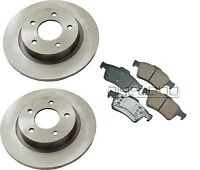 Mazda 3 04-05 L4 2.3l Rear Brake Kit With Rotors And Pads Premium Quality on sale