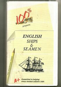 Inglese-Navi-e-Marinai-VHS-Tudors-Serie-1-100-Educativo-Video-Britannico
