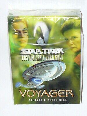 2001 Star Trek Voyager CCG Starter Deck Black Border