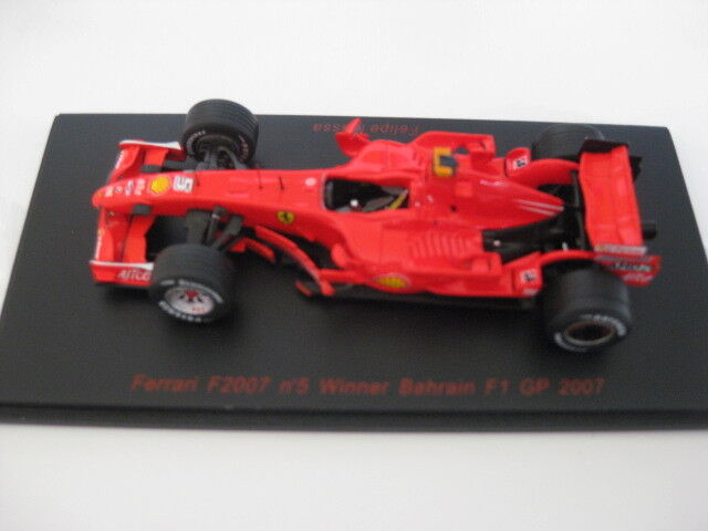 Rosso LINE RL 141 FERRARI f2007 no 5 WINNER Bahrein f1 GP 2007 1:43 NUOVO IN SCATOLA ORIGINALE
