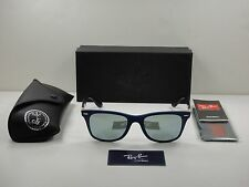 703b244229 RAY-BAN WAYFARER LITEFORCE SUNGLASSES RB4195 624830 SILVER MIRROR LENS 52MM