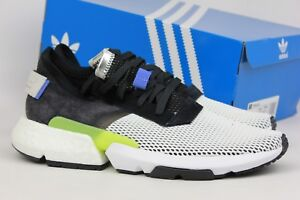 more photos 0570e c9178 Image is loading Adidas-Originals-POD-S3-1-Core-Black-Real-