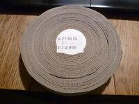 1 Rolle Hutband / Ripsband mit ca. 46 Meter (€0,60/m) Breite ca. 40mm Nr. 49