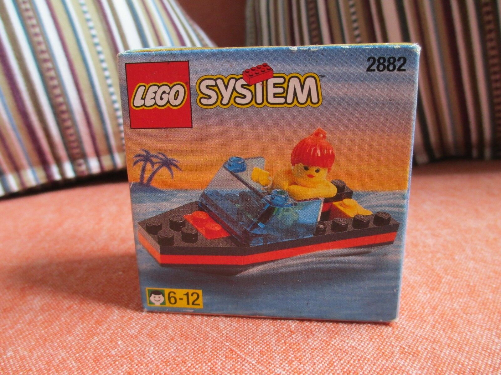 NEW & SEALED LEGO System Set 2882 Town Speedboat Boat - XMAS GIFT UNOPENED