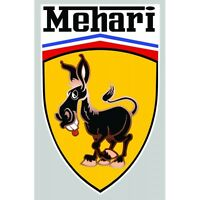 Sticker Citroen Mehari°