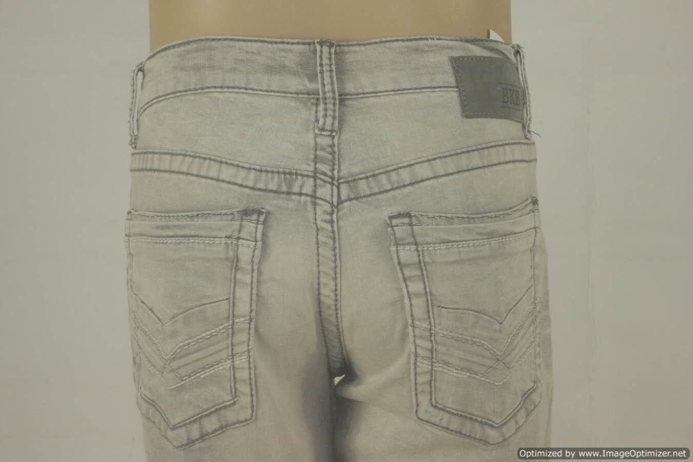 BKE Carter Low-Rise Bootcut Stretch Denim Jeans-Men's Size 33R - W  33 x L  31.5