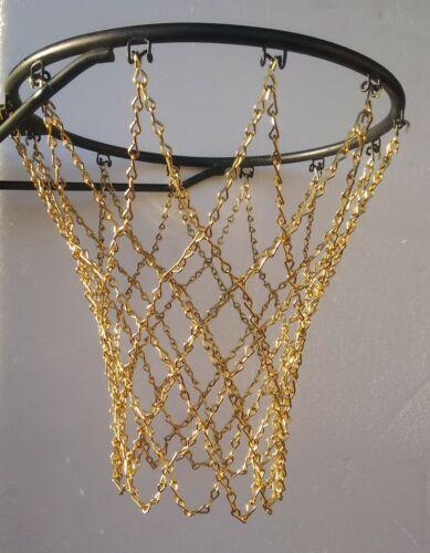 Basketball chain net gold diamond Pattern Durable High Performance brass pltd