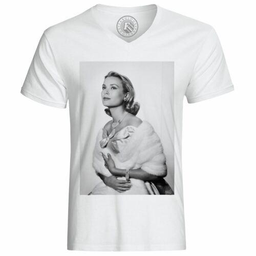 T-Shirt Homme Grace Kelly Actrice Vieux Cinéma Original 9