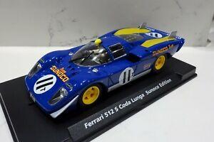 à Condition De Fly C-74 88166 Ferrari 512 S Coda Lunga Sunoco Edition #11 Entièrement Neuf Dans Sa Boîte-afficher Le Titre D'origine