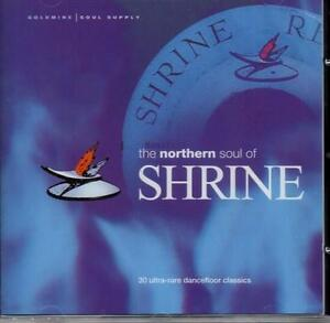NORTHERN-SOUL-OF-SHRINE-Various-Artists-NEW-amp-SEALED-CD-GOLDMINE-SOUL-SUPPLY