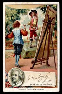 Chromo Aiguebelle-signatures D'hommes Celebres-van Dyck Kw0p7ofu-07231512-818060423