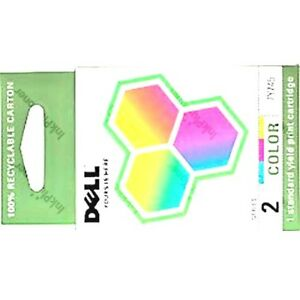 OEM-Dell-Series-2-7Y745-colour-color-Ink-Cartridge-A940-A960-genuine-FN190-SEALD