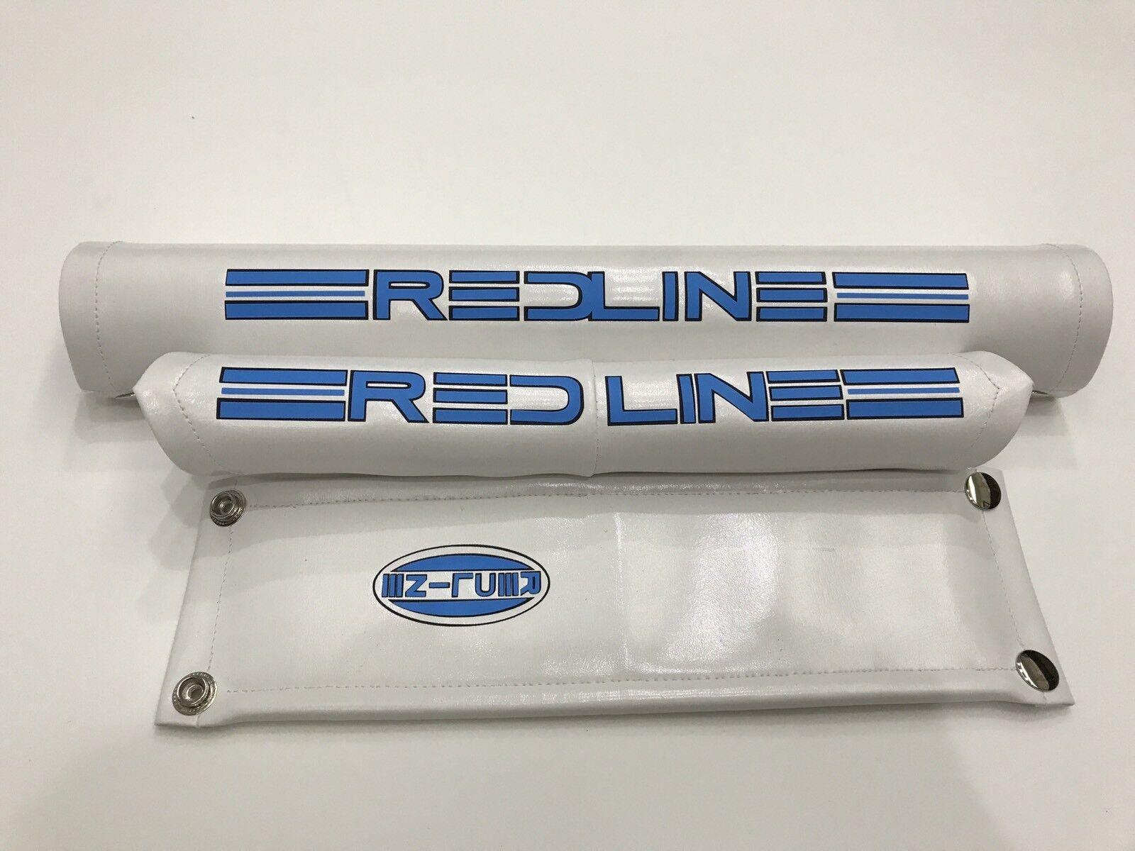 RossoLINE PROLINE Vstyle MX2 VINYL Pad Set Ripper Oldschool Bmx REPOP Sky blu