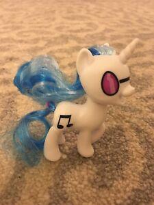 "Hasbro My Little Pony MLP DJ Pon Vinyl 4"" Inch Figure With Brushable Hair"