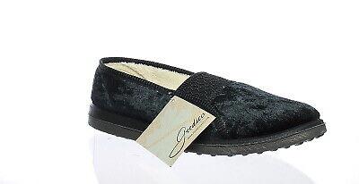 Foamtreads Womens Quartz Black Mule Slippers Size 8.5