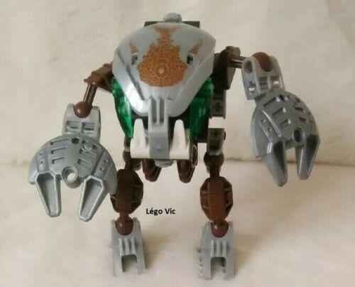 C141 Lego 8577 Bionicle Mata Nui Bohrok Kal Pahrak-Kal robot complet no rubber