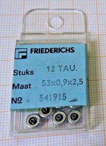 Treu Lot Mit 12 Neuwertigen Aufzugskronen Für Taucheruhren Stahl 5,3/0,9/2,5 Mm. Uhrmacher Kronen