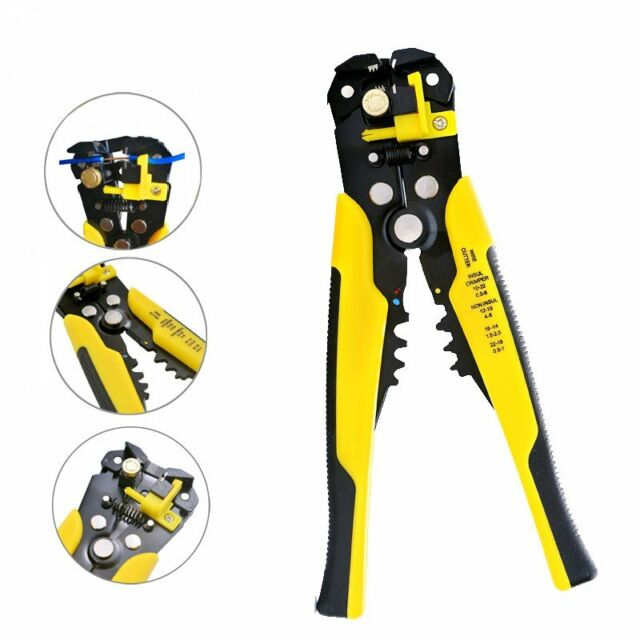 Electric Stripping Tools Cutter Pliers Terminal Hand Cutting Wire Cable Chic