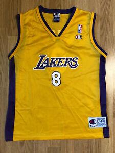 Details about Vintage Kobe Bryant Los Angeles Lakers Champion jersey NBA Size L 14-16 Mint